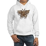 Gold Butterfly Hooded Sweatshirt