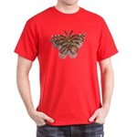 Gold Butterfly Dark T-Shirt