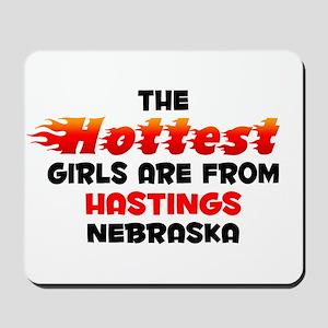 Hot Girls: Hastings, NE Mousepad