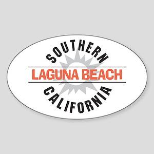 Laguna Beach California Sticker (Oval)
