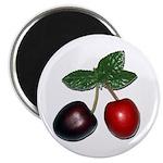 "Cherries 2.25"" Magnet (100 pack)"