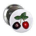 "Cherries 2.25"" Button (10 pack)"