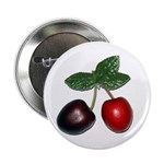 "Cherries 2.25"" Button (100 pack)"