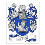 Philips Coat of Arms Small Poster