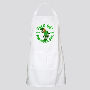 Rock Out with your Shamrock Out BBQ Apron