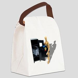 GraduateLocker051009shadows Canvas Lunch Bag
