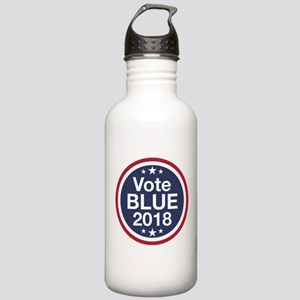 Vote Blue 2018 Water Bottle