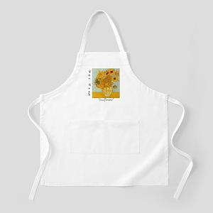 Sunflowers BBQ Apron