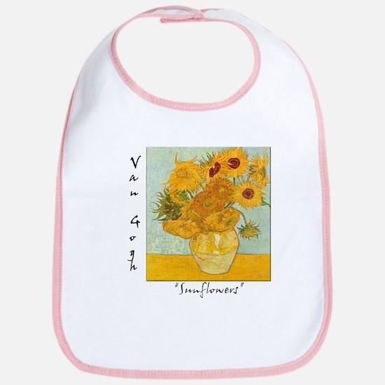 Sunflowers Bib