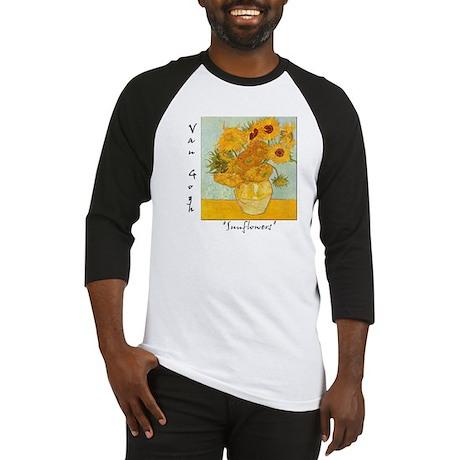 Sunflowers Baseball Jersey
