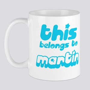 this belongs to Martin Mug