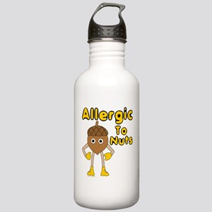 Allergic to Nuts Water Bottle