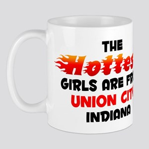 Hot Girls: Union City, IN Mug
