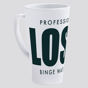 Lost TV Binge Watcher 17 oz Latte Mug