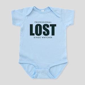 Lost TV Binge Watcher Baby Light Bodysuit
