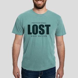 Lost TV Binge Watcher Mens Comfort Colors Shirt