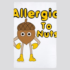 Allergic to Nuts 4' x 6' Rug
