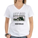 BHC HOTROD Women's V-Neck T-Shirt
