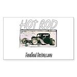 BHC HOTROD Rectangle Sticker