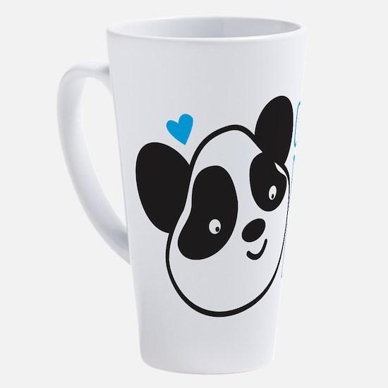 Unique Suits 17 oz Latte Mug