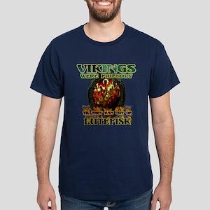 Lutefisk Scandinavian humor Dark T-Shirt