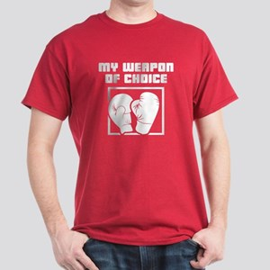Boxing - WeaponOfChoice Dark T-Shirt