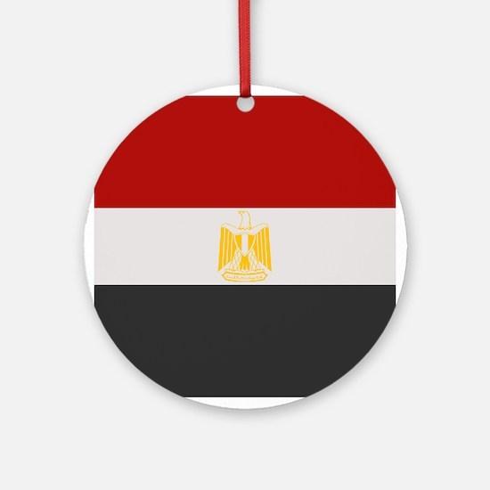"""""""Egypt Flag"""" Ornament (Round)"""