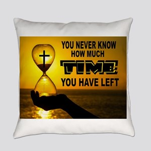 Time Left Everyday Pillow