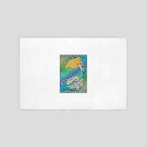 Best Seller Merrow Mermaid 4' x 6' Rug