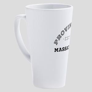 Provincetown Massachusetts 17 oz Latte Mug
