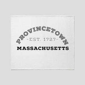 Provincetown Massachusetts Throw Blanket