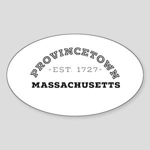 Provincetown Massachusetts Sticker