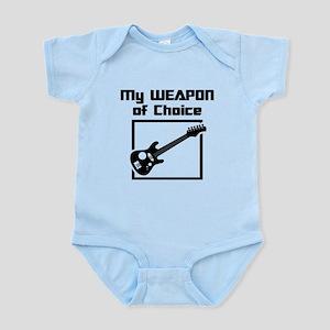 Musician - WeaponOfChoice Infant Bodysuit