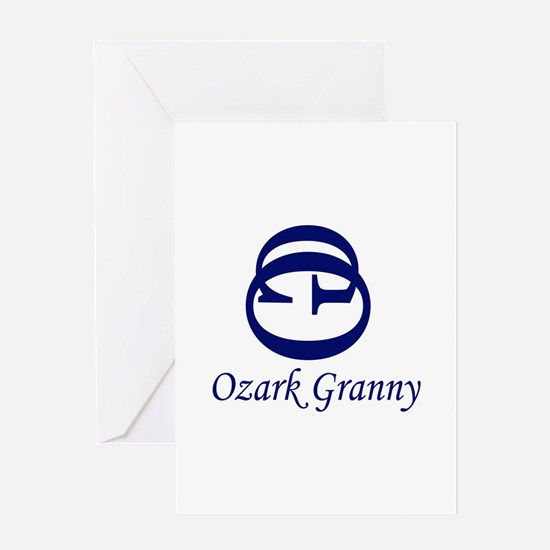 Ozark Granny - Recycled Hillb Greeting Card