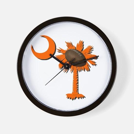 Clemson Football Wall Clock