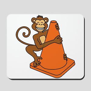 Cone Monkey Mousepad