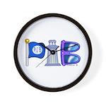 PIB Logo Wall Clock