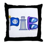 PIB Logo Throw Pillow