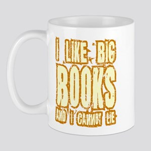 I Like Big Books Mug