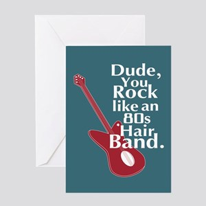 Dude You Rock Note Cards Greeting Cards