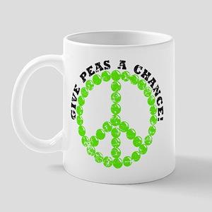 Peas a Chance (Distressed) Mug