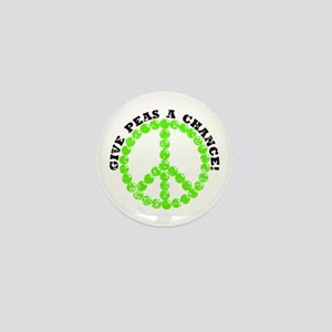 Peas a Chance (Distressed) Mini Button