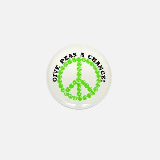 Peas a Chance (Distressed) Mini Button
