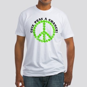 Peas a Chance (Distressed) Fitted T-Shirt