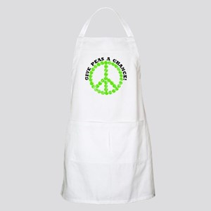 Peas a Chance (Distressed) BBQ Apron