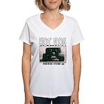 Nasty Hot Rod Women's V-Neck T-Shirt