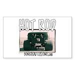 Nasty Hot Rod Rectangle Sticker