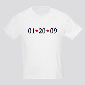 1-20-09 Obama Inauguration Day Kids Light T-Shirt