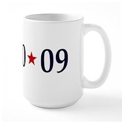 1-20-09 Obama Inauguration Day Large Mug