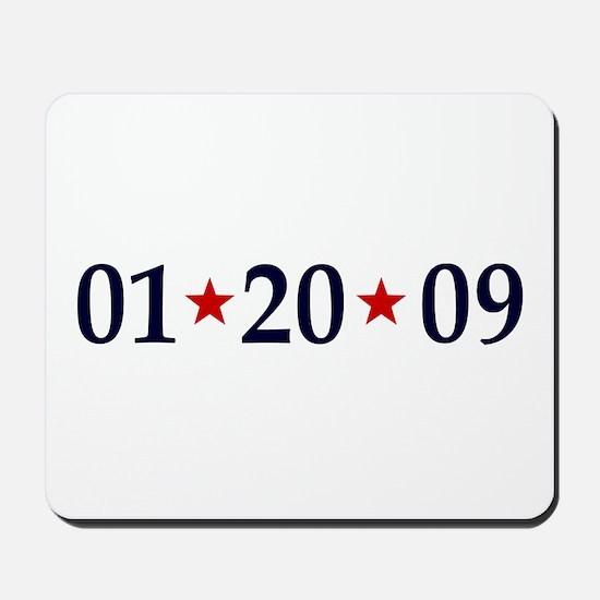 1-20-09 Obama Inauguration Day Mousepad